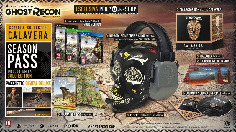 Scopriamo tutte le edizioni di Tom Clancy's Ghost Recon Wildlands