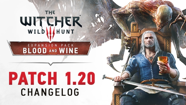 CD Projekt Red ha pubblicato il changelog della patch 1.20 di The Witcher 3
