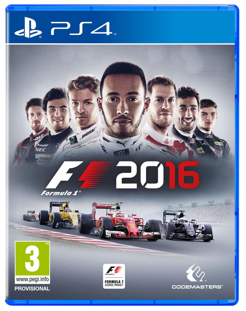 Ecco la copertina ufficiale di F1 2016