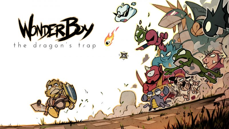 Lanciato il sito teaser di Wonder Boy: The Dragon's Trap
