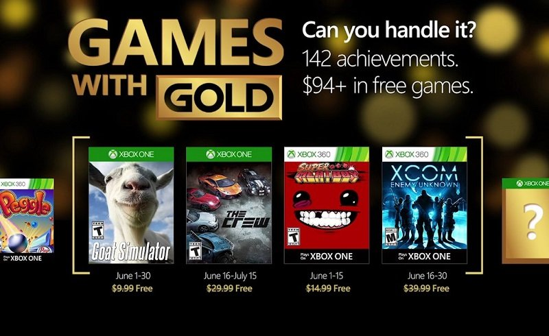 Games with Gold - Giugno 2016