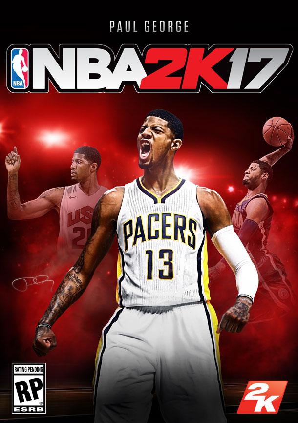Annunciato l'atleta di copertina per NBA 2K17, sarà Paul George