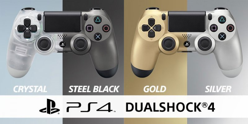 I DualShock 4 Crystal e Steel Black arrivano il mese prossimo