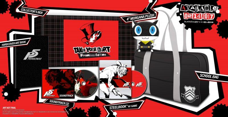 Persona 5 ha una data in nord America, arriva nel 2017 con due edizioni speciali