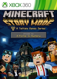 Minecraft: Story Mode - Episode 6: A Portal to Mystery per Xbox 360