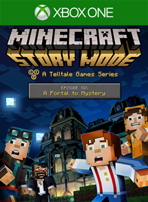 Minecraft: Story Mode - Episode 6: A Portal to Mystery per Xbox One