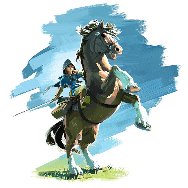 Ecco un nuovo artwork di The Legend of Zelda per Wii U e Nintendo NX