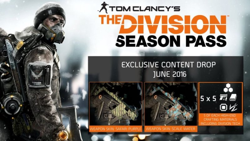 I contenuti di giugno del Season Pass di Tom Clancy's The Division sono disponibili