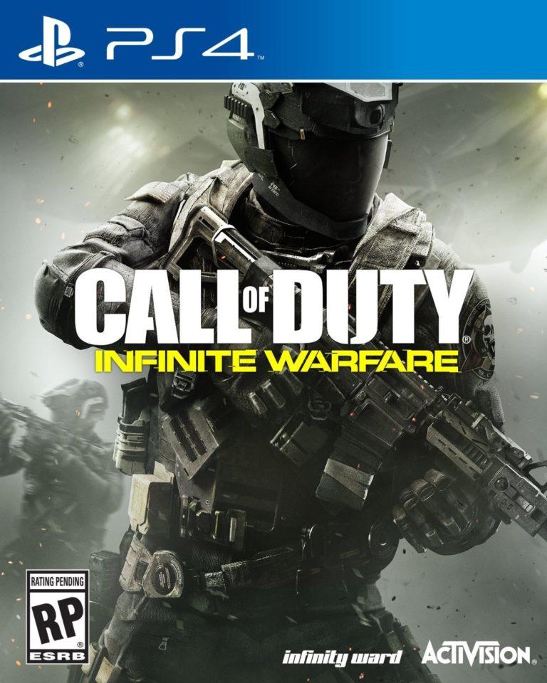 Activision ha cambiato la cover ufficiale di Call of Duty: Infinte Warfare