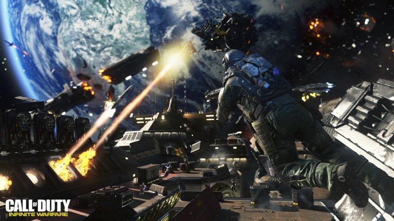 Le sequenze con i veicoli e i voli spaziali di Call of Duty: Infinity Warfare non sono su binari
