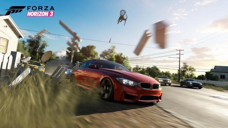 La mappa di Forza Horizon 3 sarà il doppio di quella dell'episodio precedente
