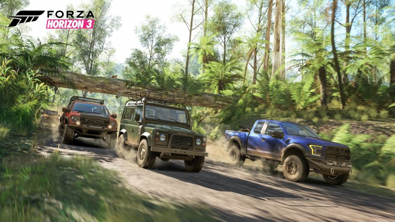 Forza Horizon 3 è disponibile da oggi