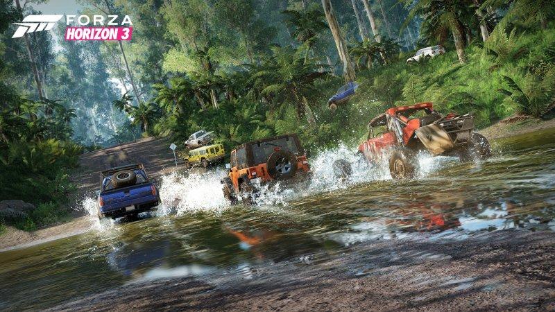 Forza Horizon 3 è giocabile da oggi per gli acquirenti dell'Ultimate Edition