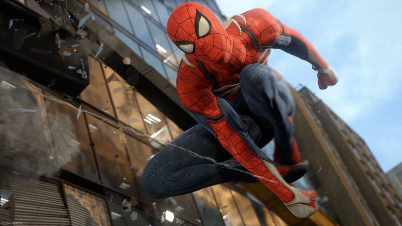 La grafica del trailer di Spider-Man è tutta in-game