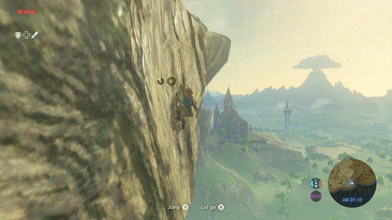 Le città e i personaggi non giocabili sono stati volutamente rimossi dalla demo E3 di The Legend of Zelda: Breath of the Wild