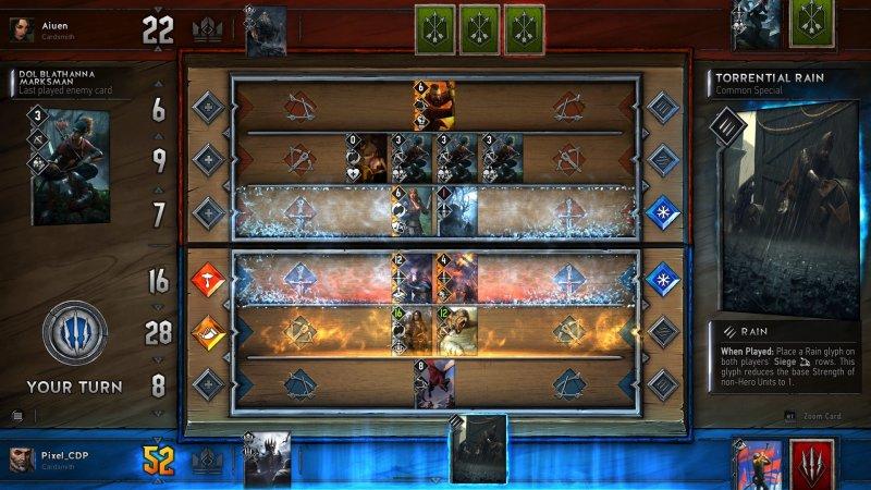 Nuova fase di inviti per la beta a porte chiuse di Gwent: The Witcher Card Game