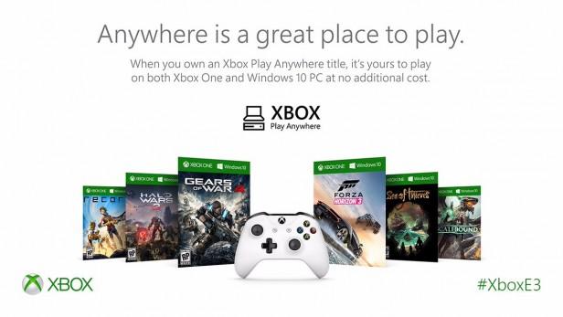 Un elenco dei primi giochi confermati in cross-buy per il programma Play Anywhere