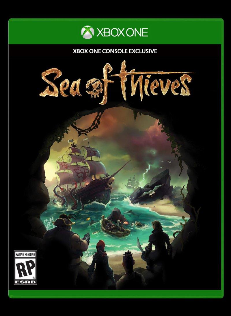 Una ricca galleria di Sea of Thieves mostra personaggi, ambientazioni e cover del gioco