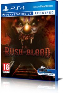 Until Dawn: Rush of Blood per PlayStation 4