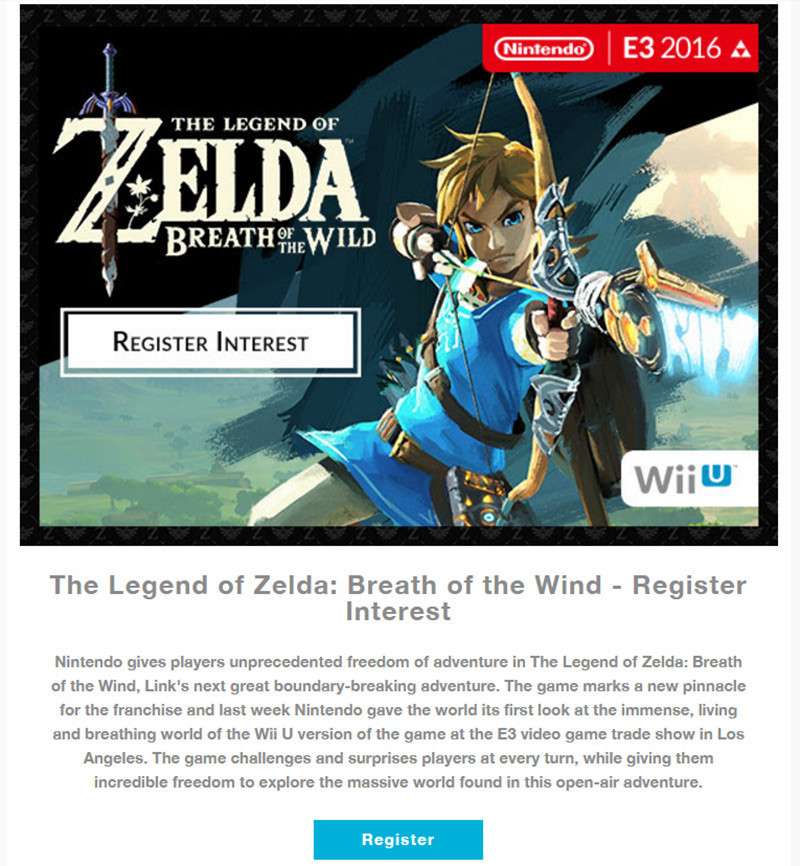 Era inevitabile, anche Nintendo confonde il sottotitolo del nuovo The Legend of Zelda: Breath of the Wild