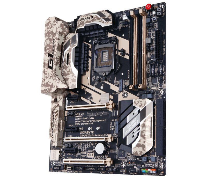 Gigabyte GA-X170 Extreme ECC