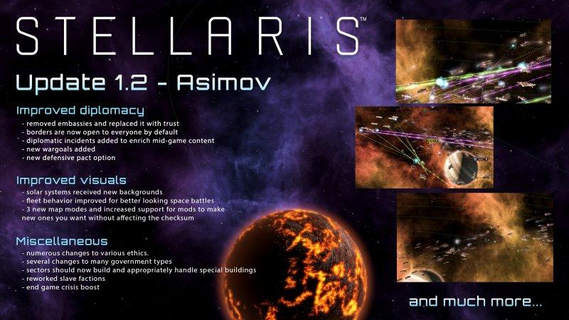 Lanciata la patch Asimov di Stellaris