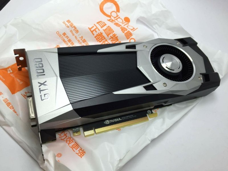 Appare in un mercato di Hong Kong la prima scheda GTX 1060 di Nvidia