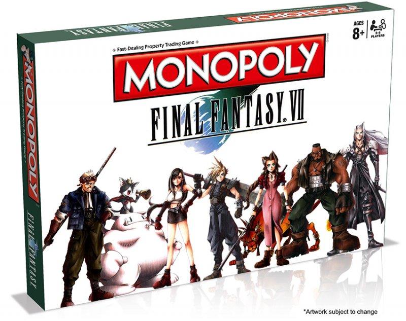 Un Monopoly su Final Fantasy VII