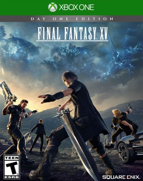 Ecco la copertina ufficiale americana per Final Fantasy XV