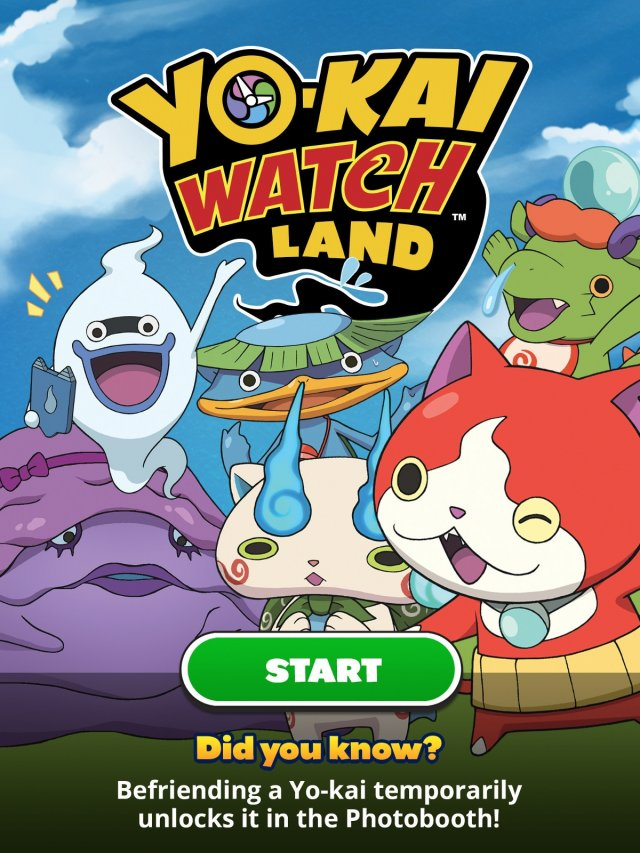 Yo-kai Watch Land