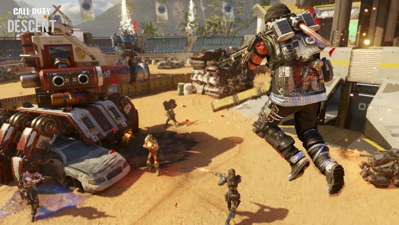 Call of Duty: Black Ops III - Descent è ora disponibile anche su PC e Xbox One