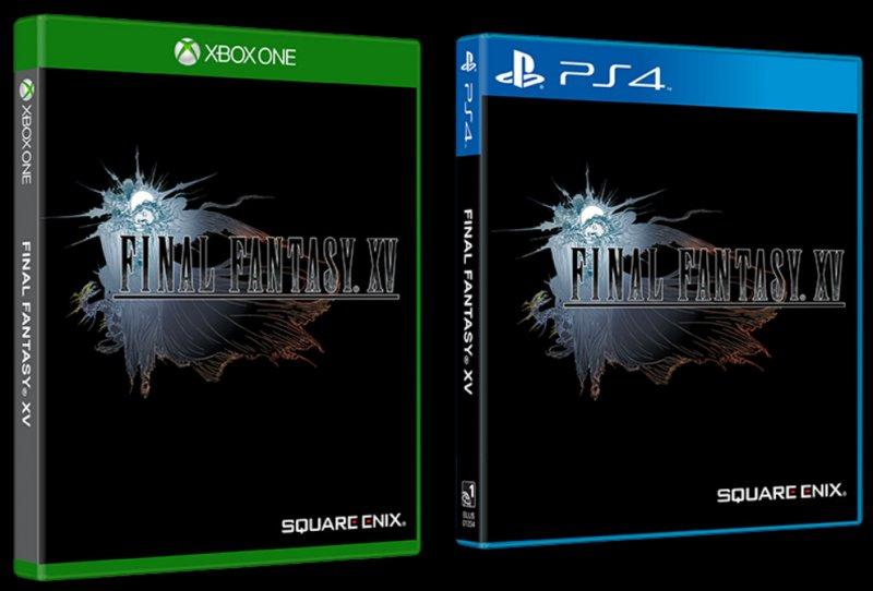 La versione europea della copertina alternativa di Final Fantasy XV avrà lo sfondo nero