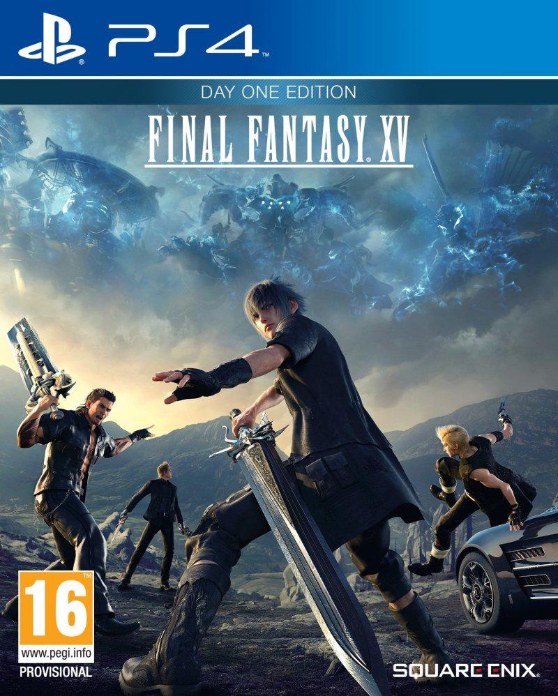 Confermata la copertina di Final Fantasy XV in Europa: reversibile come quella USA