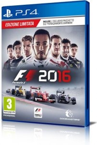 F1 2016 per PlayStation 4