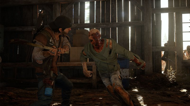 Zombi, sangue e neve in Days Gone