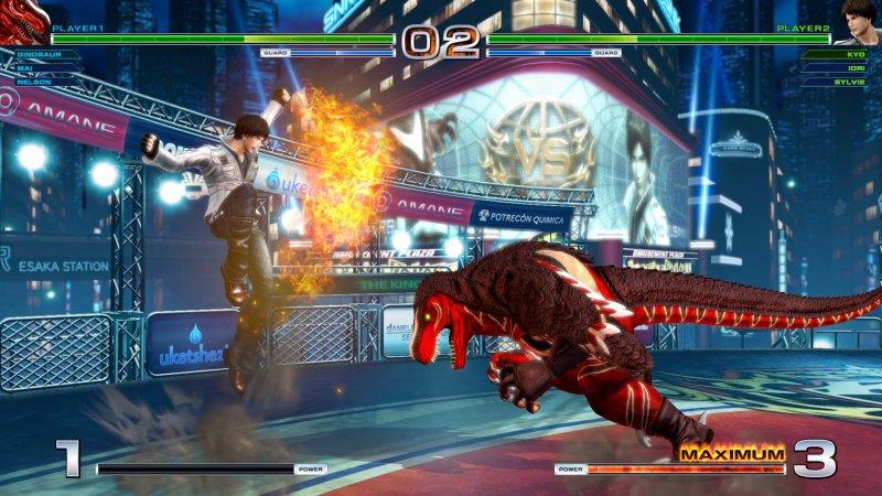 SNK ha pubblicato una nuova patch di King of Fighters XIV