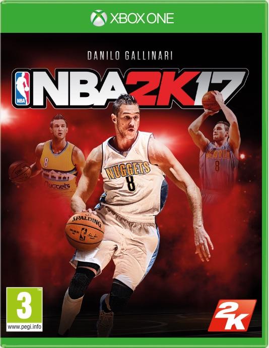 Danilo Gallinari è il giocatore di copertina per NBA 2K17 in Italia