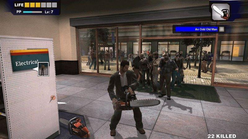 I maggiori sforzi dei remaster di Dead Rising 1 e 2 sono concentrati sul primo capitolo