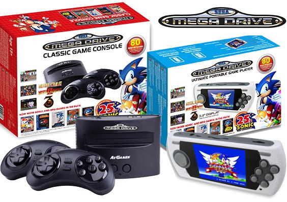 SEGA presenta due versioni del suo Mega Drive per festeggiare i 25 anni di Sonic