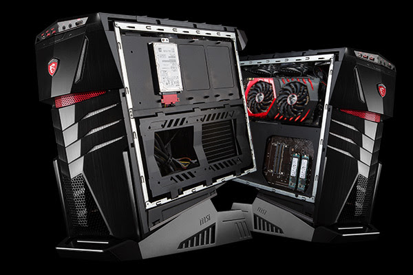 MSI presenta Aegis TI, desktop con due GTX 1080 in SLI