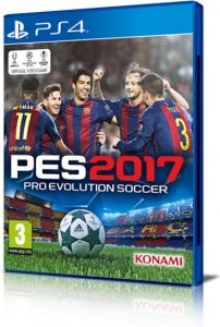 Pro Evolution Soccer 2017 (PES 2017) per PlayStation 4