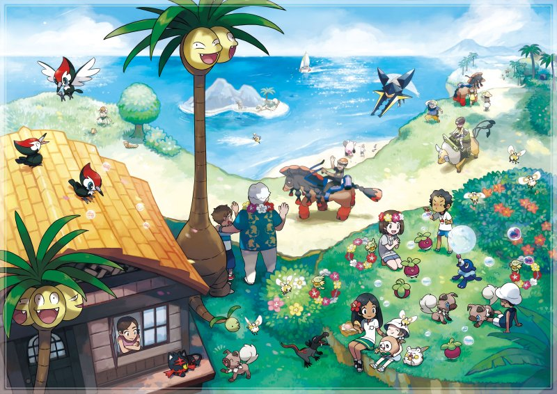 Nuove informazioni su Pokémon Sole e Luna in arrivo il 12 agosto