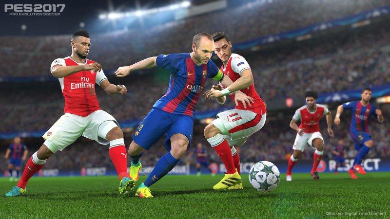 Pro Evolution Soccer 2017 riceverà un aggiornamento per supportare PlayStation 4 Pro