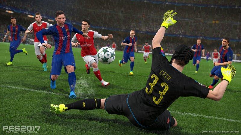 Disponibile da oggi la demo di Pro Evolution Soccer 2017
