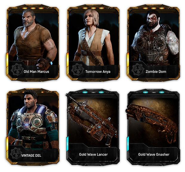 Marcus e Anya invecchiati e un Dom in versione zombie tra i bonus per le prenotazioni di Gears of War 4