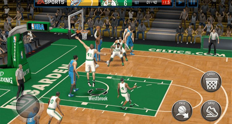 nba live mobile basketball multiplayer