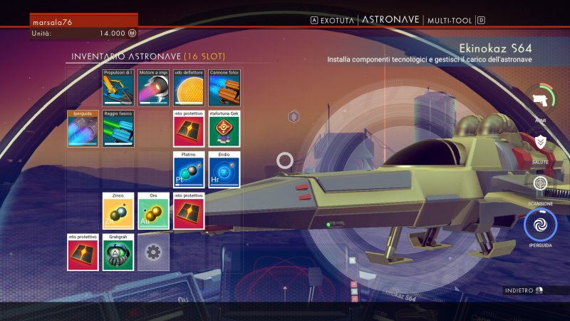 La versione PC di No Man's Sky