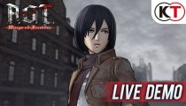 Attack On Titan: Wings Of Freedom - Live demo