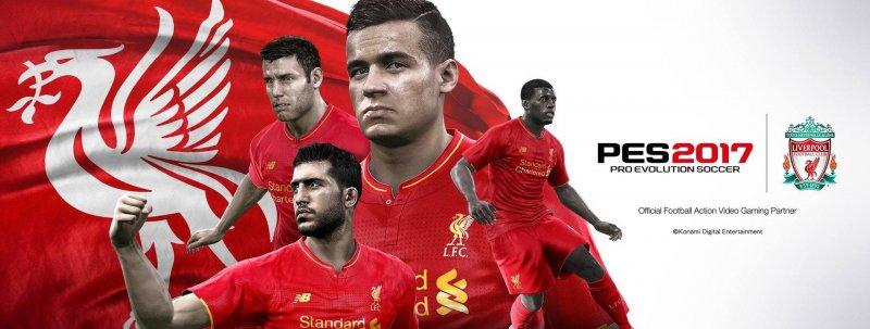 Il Liverpool sarà presente in PES 2017