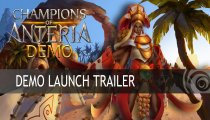 Champions of Anteria - Trailer della demo